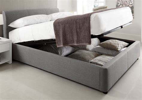king size ottoman beds uk serenity upholstered ottoman storage bed grey king