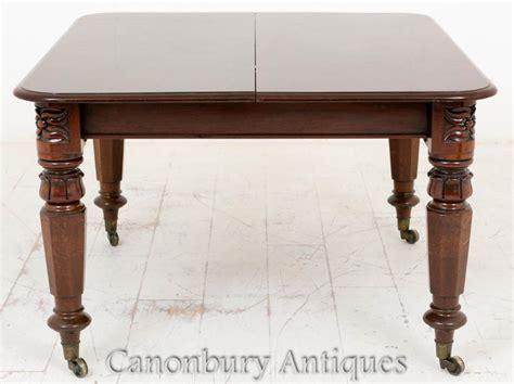 mahogany dining table william iv mahogany dining table extending