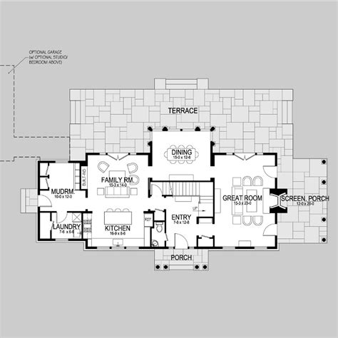 style floor plans plains road shingle style home plans by david neff architect