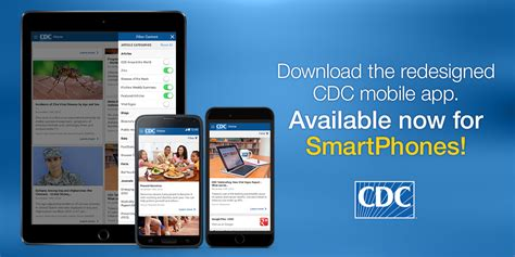 cdc mobile app mobile activities cdc