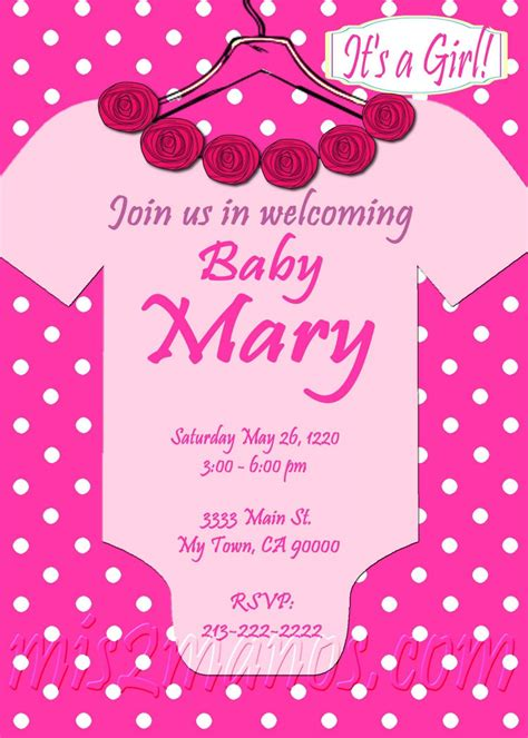 printable onesies invitations baby shower onesie girl invitations printable pink onesie
