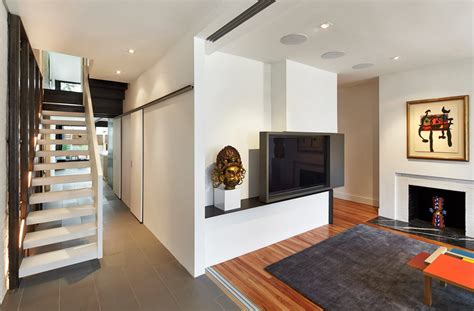 row house interior design contemporary row house with open concept living and