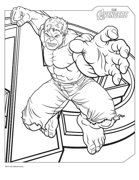 Avenger Coloring Page n 18 coloring pages of