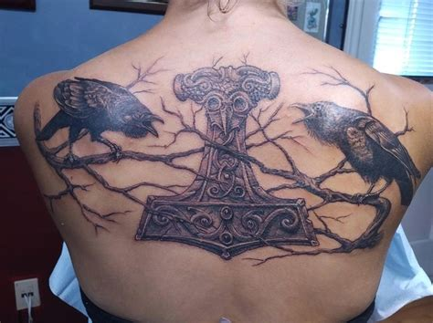 huginn and muninn tattoo 508 best images on viking tattoos