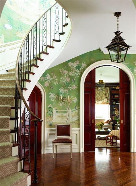 foyer wallpaper wallpaper in the entry foyer yay or nay
