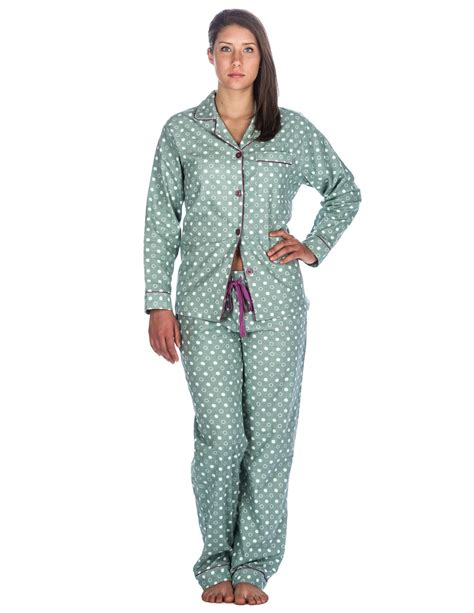 Set Flanel 2 womens 100 cotton flannel pajama sleepwear set relaxed fit noble mount