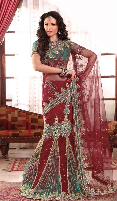 hairstyle design for saree latest fashion trends lehenga style saree designs