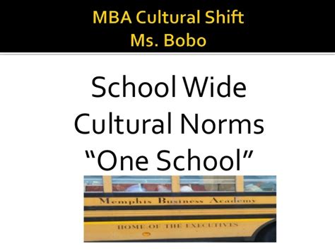 Mba Culture by Mba School Culture