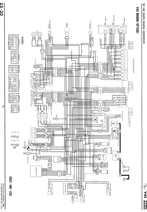 bass end ackwards honda v45 wiring diagram magna