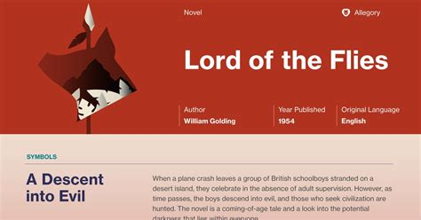 symbols in lord of the flies chapter 4 lord of the flies study guide course hero