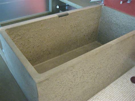 concrete bathtubs concrete age artworks richard marks design
