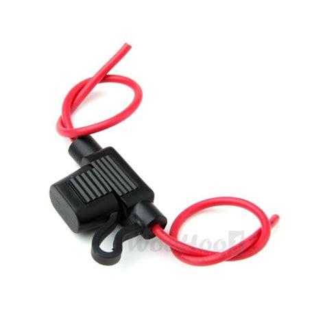 porte fusible sono voiture porte fusible lame enfichable avec fil pour voiture moyen