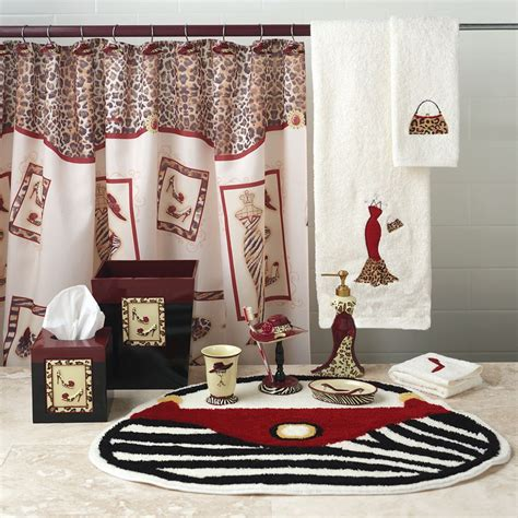 Bathroom Set Ideas by Black And White Bathroom Rugs Awesome Smart Home Design