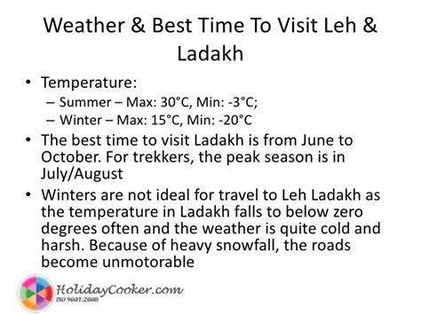 What Is The Best Length To Do A Detox by Leh Ladakh