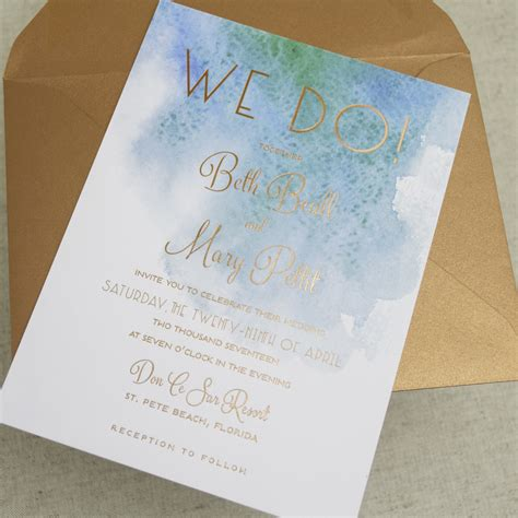 Themed Wedding Invitations by Modern Themed Wedding Invitations A P Designs