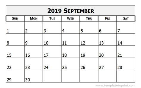 september 2019 calendar september 2019 calendar template 2018 calendar printable