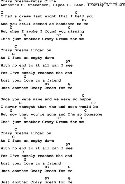 Patsy Cline Guitar Chords