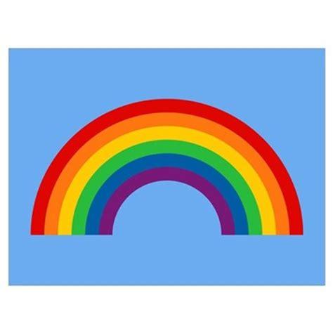 Small Housewarming Gift retro rainbow wall art poster