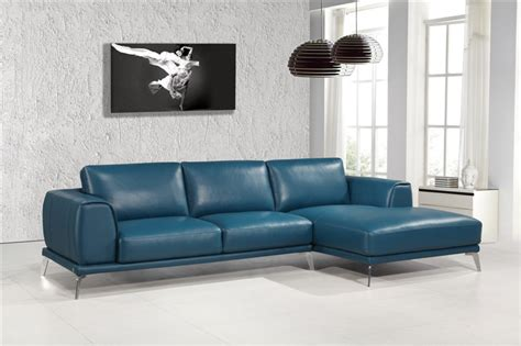 Blue Italian Leather Sofa Blue Italian Leather Sofa Smileydot Us