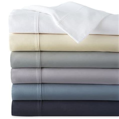 jcpenney bed sheets studio 400tc cotton sateen weave sheet set jcpenney