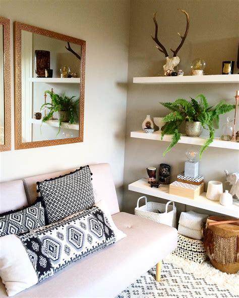 tribal pattern room boho decor tribal design scandi tiny living room