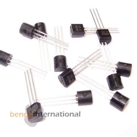 transistor s8050 10x 50x transistors s8050 s8550 2n3904 2n3906 2n2907 s9015 s9018 pnp npn arduino ebay