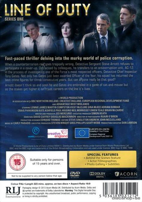 se filmer line of duty gratis line of duty series 1 2 disc import dvd discshop se