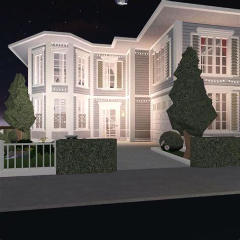 aesthetic house exterior bloxburg   beautiful