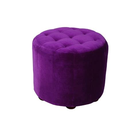 large purple ottoman purple pouf rentals event furniture rental