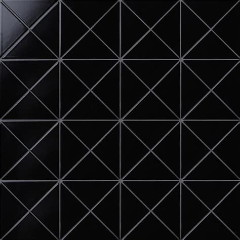 tile background 4 quot cross junction matte black triangle tile background