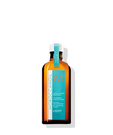 light oils for hair moroccanoil treatment light for light hair moroccanoil