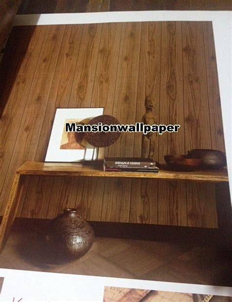 wallpaper dinding untuk rumah kayu jual wallpaper dinding motif kayu natural mansion