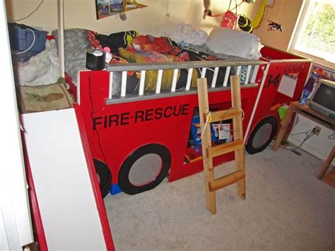 firefighter bed fire engine bunk bed fire truck room firefighter pinterest trucks engine and