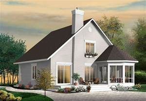 Small house with open floor plan in addition bungalow roof dormer