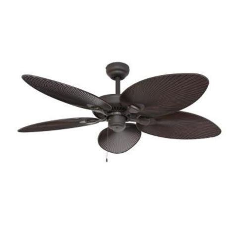 fans ceiling fan tortola 52 in outdoor bronze