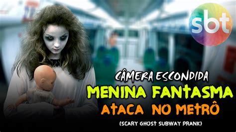 menina fantasma no elevador ghost girls extremely scary menina fantasma ataca no metr 244 scary ghost subway prank