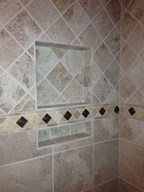 bathroom pattern tile ideas tile pattern change upper tile diamond pattern lower