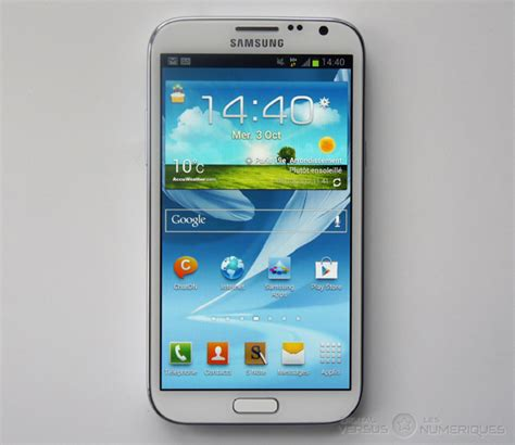 samsung note 2 samsung galaxy note 2 test complet smartphone les