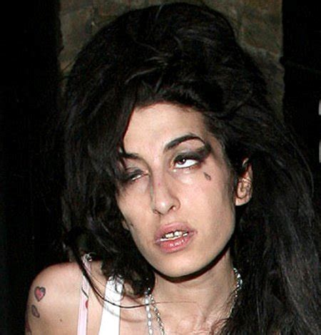Winehouse In Another Mess by A Junkie Is Dead