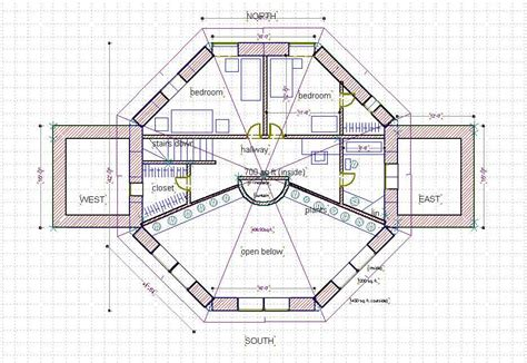 octagon house plans 2 story octagon house plans joy studio design gallery