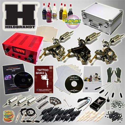hildbrandt professional complete tattoo kit 4 machine coil