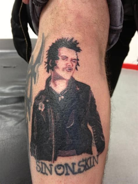 sex tattoo sid vicious cover up pistols up