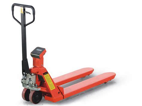 Jual Forklift Electric Noblift Fe4p20 harga jual pallet truck with scale timbangan jakarta