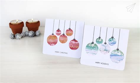 who makes cards how to make cards with baubles free