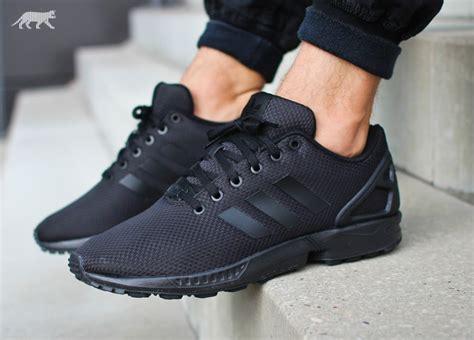 black zx flux adidas zx flux quot black quot kicksonfire com