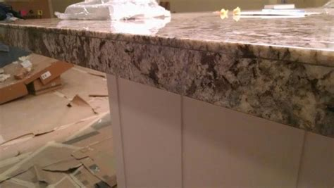 Kitchen Design Granite by Is This What A Mitered Granite Edge Should Look Like