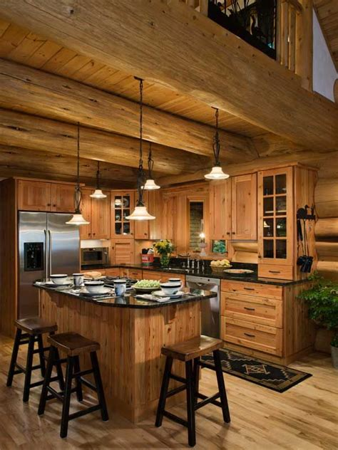 mountain home kitchen design best 25 log cabin kitchens ideas on pinterest log home