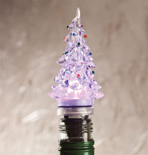 light up wine bottle stoppers light up tree wine stopper bottle stoppers