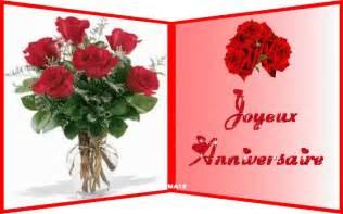 bouquet de fleurs pour vous joyeux anniversaire ツ