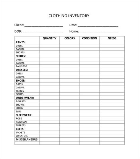T Shirt Inventory Spreadsheet by T Shirt Inventory Spreadsheet Travelboston Us